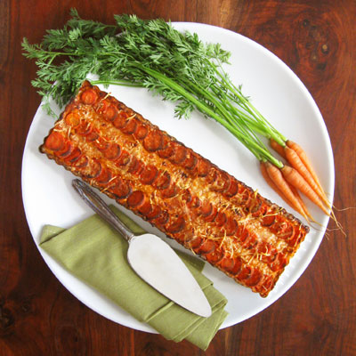 healthy Thanksgiving side dish recipes , carrot tart, Sippity Sup