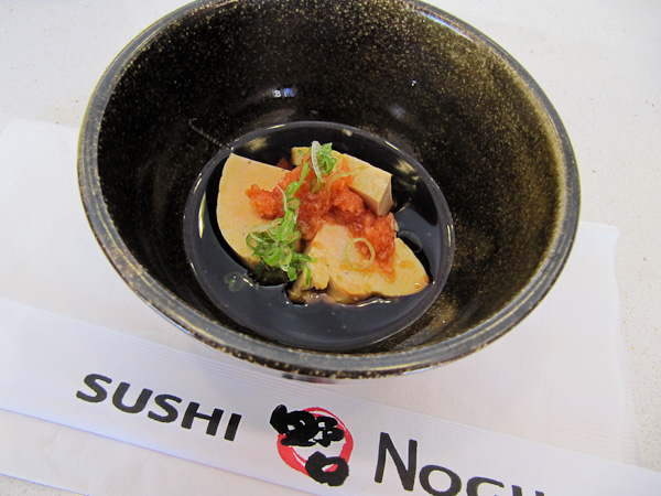 Sushi Noguchi Monk Fish Liver | ShesCookin.com