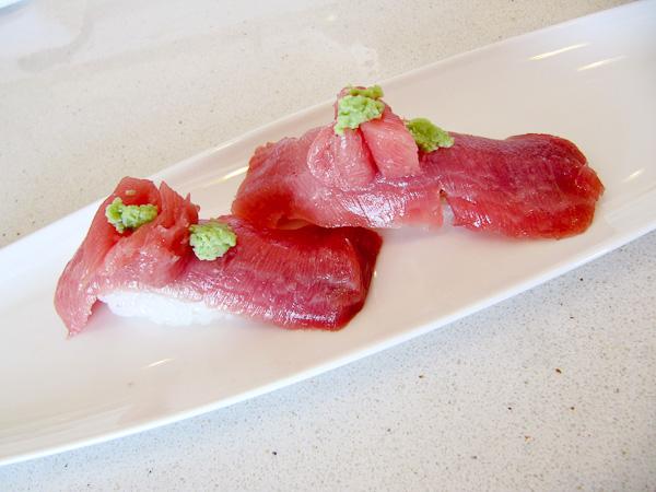 Sushi Noguchi, blue fin tuna