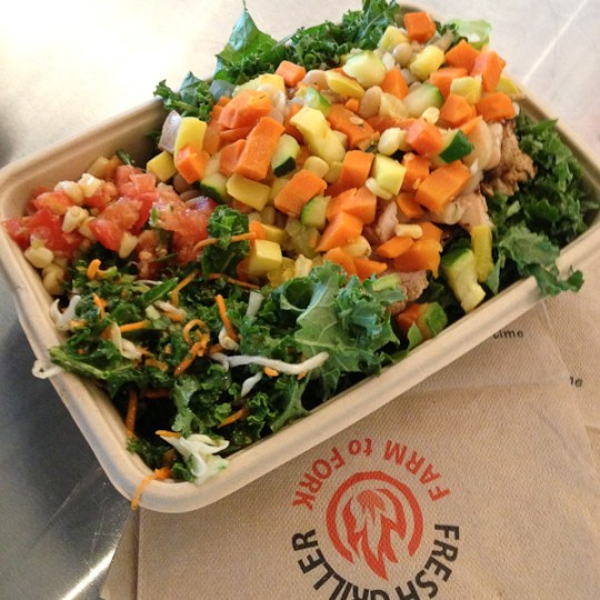 Fresh Griller, healthy fast casual restaurants