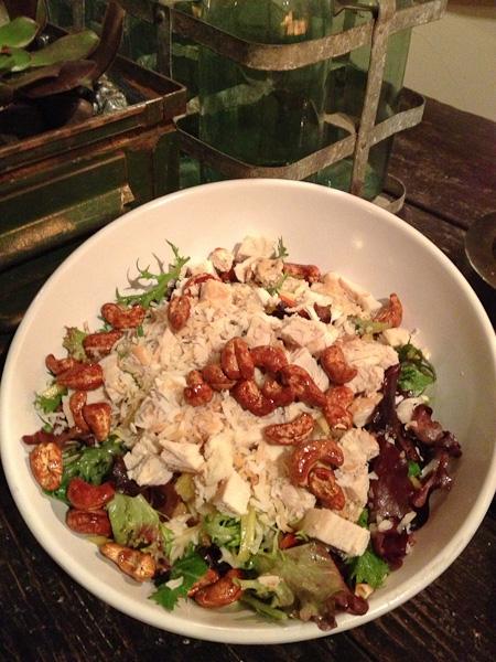 Lemongrass Chicken Salad, Greenleaf Costa Mesa