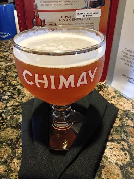 Chimay, Belgian beer