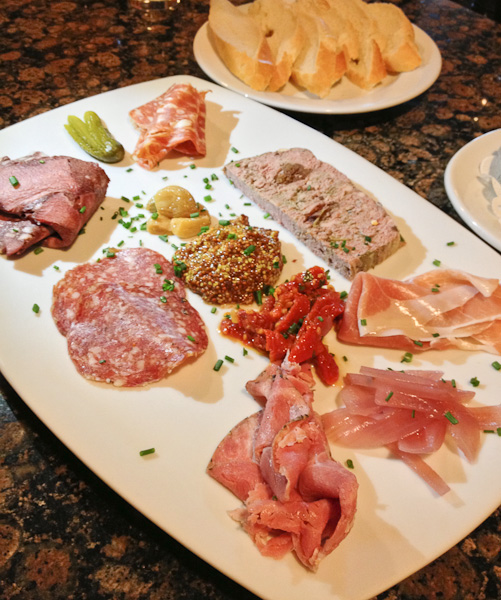 charcuterie, The Globe Dine Bar