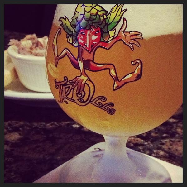 Trolls Belgian beer, Belgian beer, The Globe
