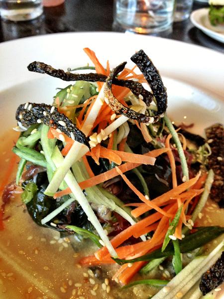 Charlie Palmer, seaweed salad, Charlie Palmer Bloomingdale's