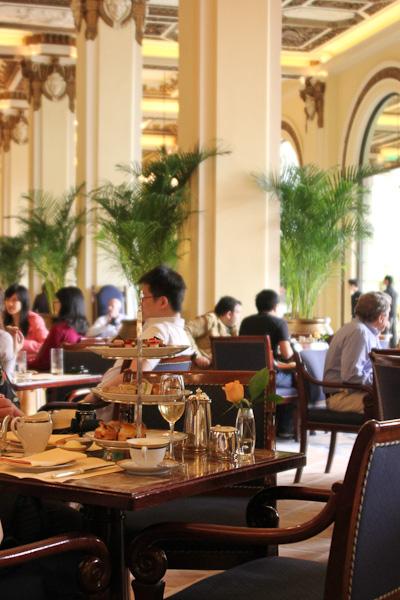 Peninsula Hotel Hong Kong, afternoon tea