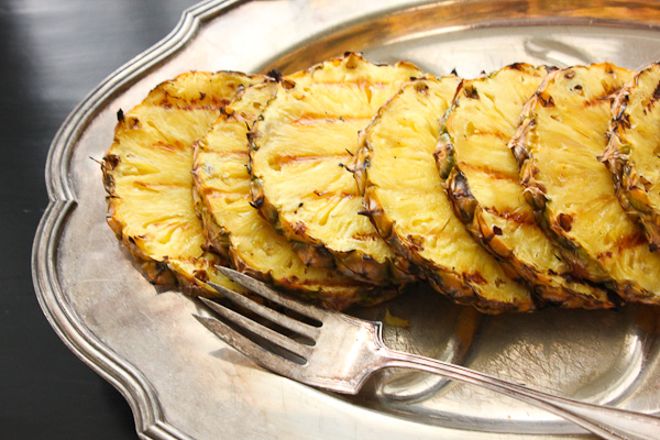 Grilled Lamb and Pineapple Salsa | ShesCookin.com
