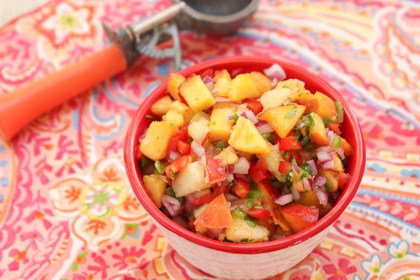 Peach and Nectarine Salsa-7391