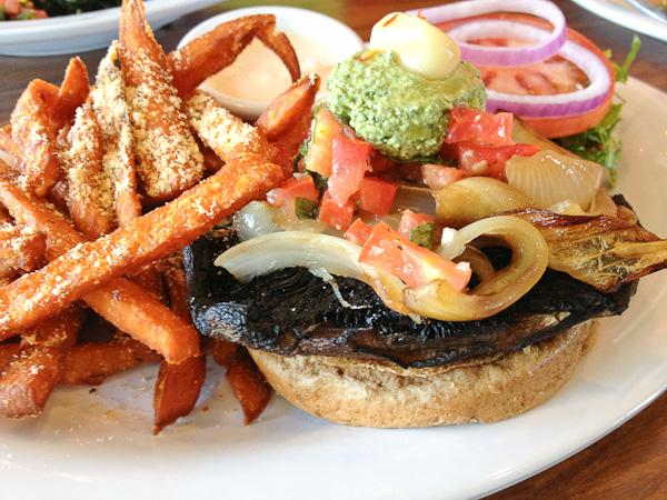 Portobello Burger -5960