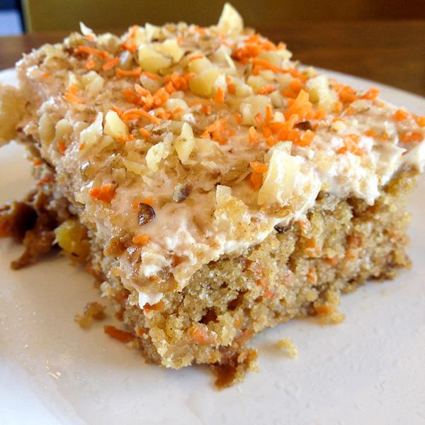 Carrot Cake, Veggie Grill, ShesCookin.com