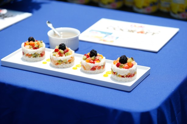 Tropical Berry Sticky Rice Dessert, 5th Annual DOLE California Cook-Off