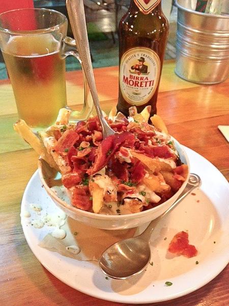 Chowder Fries, Slapfish, Huntington Beach