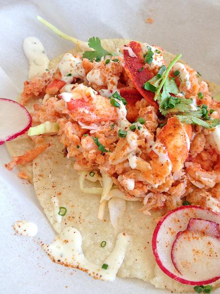 Lobster tacos, Slapfish