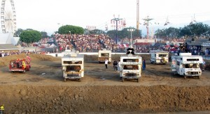 Motor Home Demolition Derby, Orange County Fair