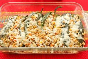 Quinoa Stuffed Chile Rellenos-7547