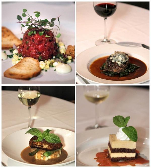 Jamboree Wine Dinner Collage