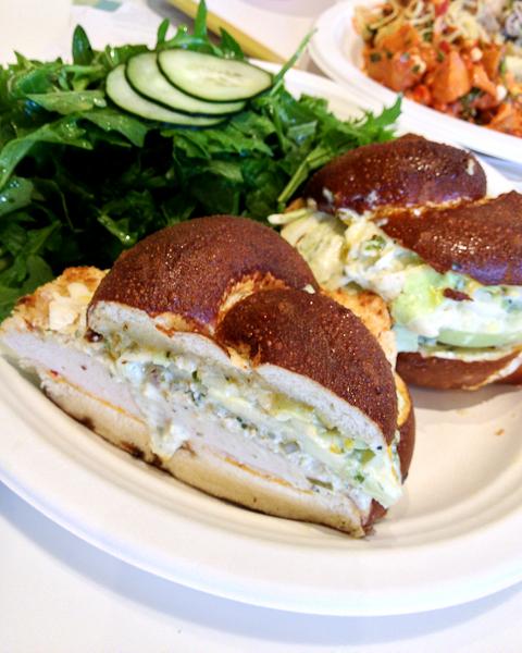 Herb Grilled Chicken Sandwich