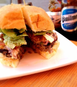 Maro Wood Grill Burger