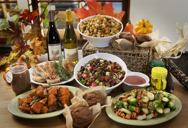 Greenleaf Gourmet Chopshop. Thanksgiving catering, healthy Thanksgiving