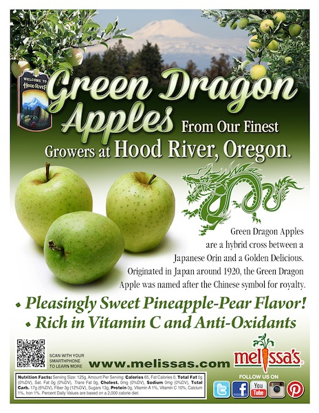 Green Dragon Apples POS Sheet