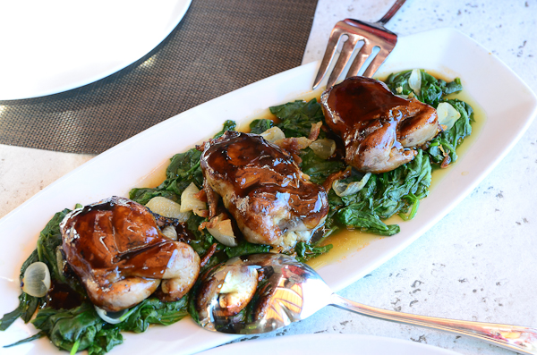 Roasted Manchester Farm Quail, Seasons 52