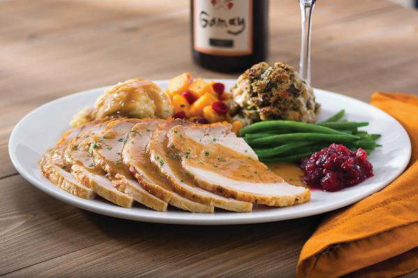 Seasons 52 Thanksgiving dinner