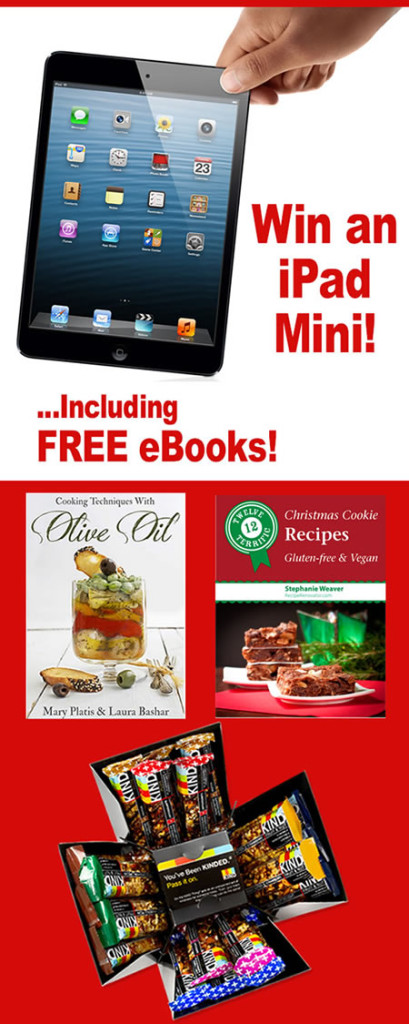 Holiday iPad Mini Sweepstakes #Giveaway