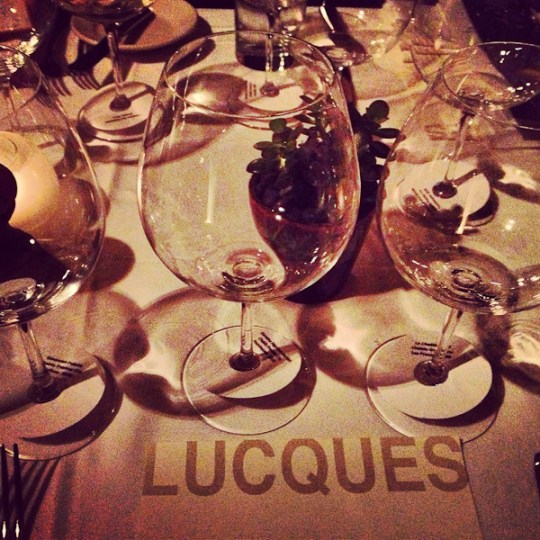 Chablis Tasting Dinner, Lucques
