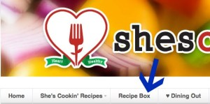 Create Ziplist Recipe Box