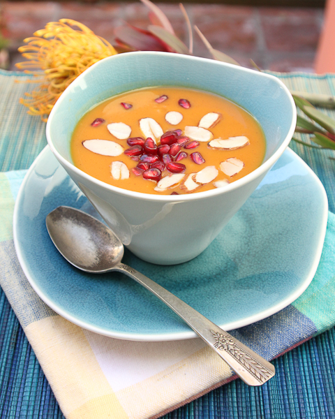 sweet potato bisque, sweet potato soup