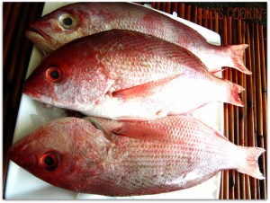 Chinese New Year foods, whole fish