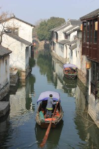 Zhouzang Village, ancient Chinese fishing village, Shanghai