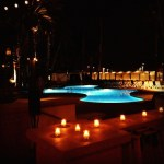 Waterfront Hilton Beach Resort, Shades restaurant