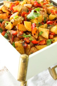 Harissa Roasted Potatoes, Batata Harra