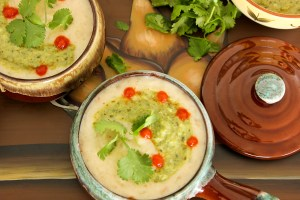 Mexican Potato Beer Cheese Soup, Caldo de Queso con Papas