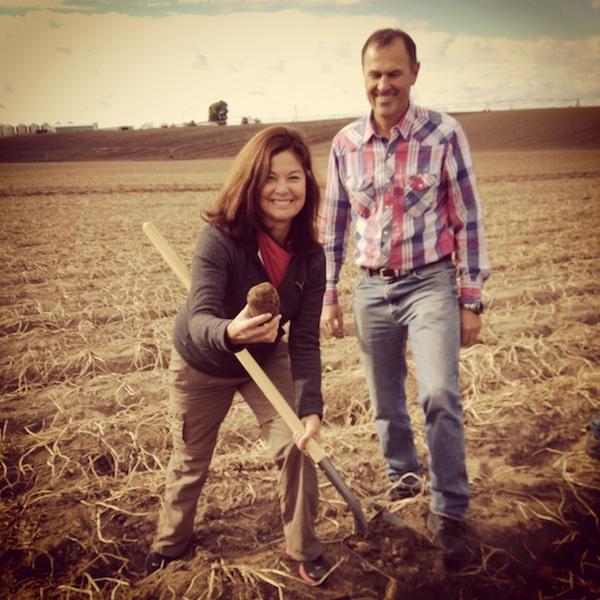 Idaho Potato Harvest, She's Cookin', Priscilla Willis