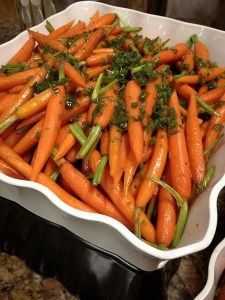 Glazed Chile-Spiced Carrots
