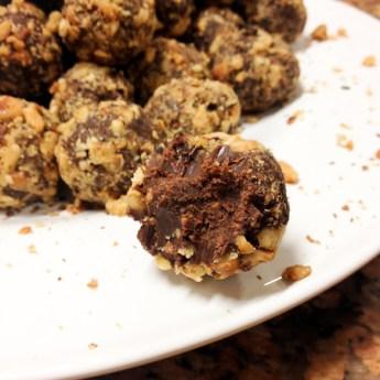 Chile-Chocolate Mole Truffles  #chileheads