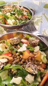 Freekah, Arugula and Heirloom Tomato Salad-