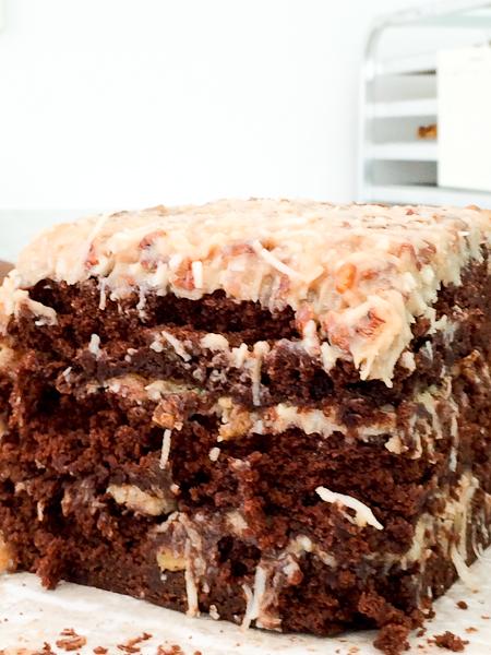 German Chocolate Cake, Susie Cakes