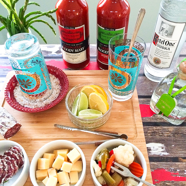 The Perfect Bloody Mary and How To Build a Bloody Mary Bar