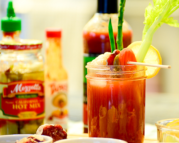 Perfect Bloody Mary and a Bloody Mary Bar