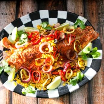 Double Duty Dinners: Spice-rubbed Bristol Bay Sockeye Salmon