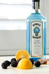 Bombay Sapphire Blackberry Meyer Lemon Tom Collins