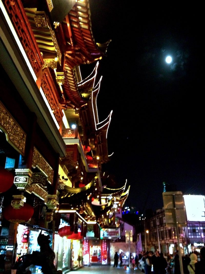 Yuyuan Garden night market