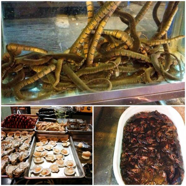 street food, Shanghai night market