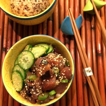 Make Hawaiian Ahi Tuna Poke At Home #Mahalo
