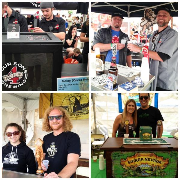Craft Brewers at Taste of Huntington Beach