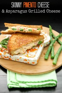 Pimento Cheese and Asparagus Grilled Cheese Sandwich