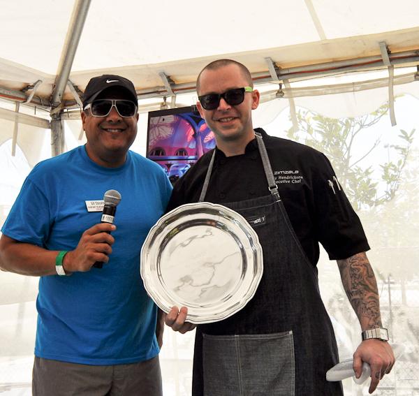Chef Roy Hendrickson, Taste of Huntington Beach